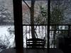 2013/11/12 館内から見る雪景色